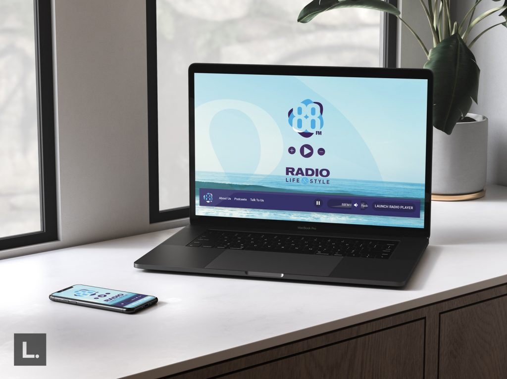 Radio Life and Style Website Design